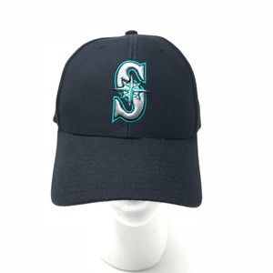 92a916809ca NEW MLB Seattle Mariners Navy Blue Baseball Hat OS